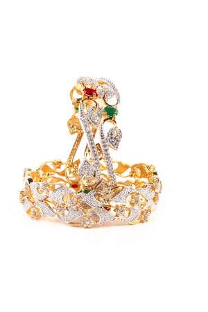 karat: Indian Bangles. Bracelet with diamonds
