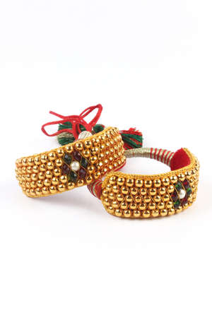 wristlet: Traditional Indian Gold Bangles