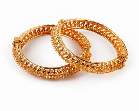 Traditional Indian Gold Bangles
