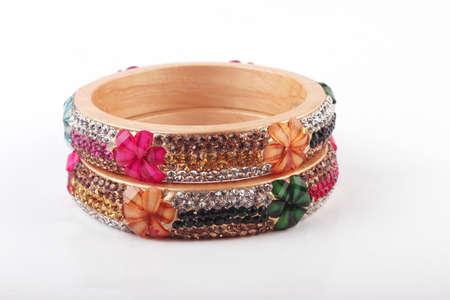 Bangles. Indian Bracelets Stock Photo