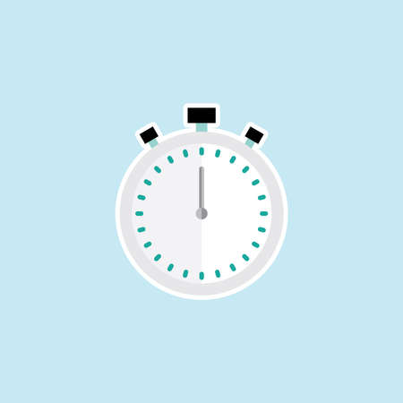 Flat icon of Stopwatch