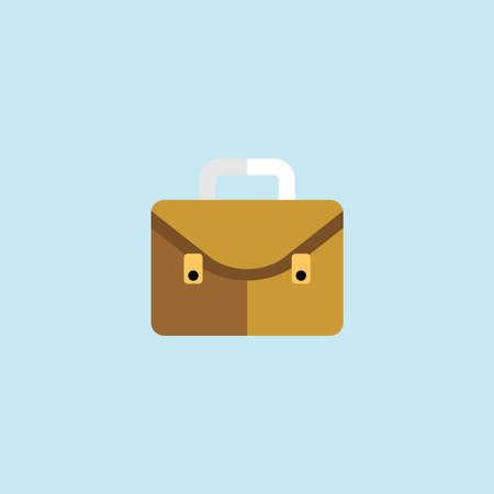 Flat icon of Suitcase Illustration