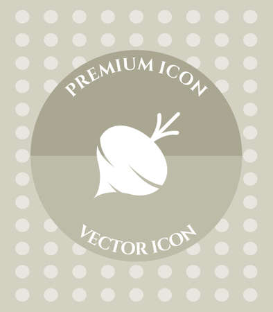 Beetroot Icon for Web, Applications, Software & Graphic Designs. Stock fotó - 125124231