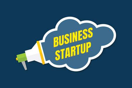 Business Start up concept poster. Imagens - 128471647