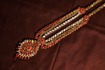 Traditional Indian Jewellery Imagens - 131634875