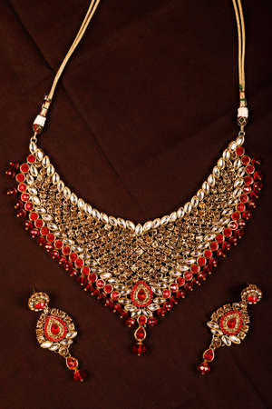 Traditional Indian Jewellery Imagens - 131634754