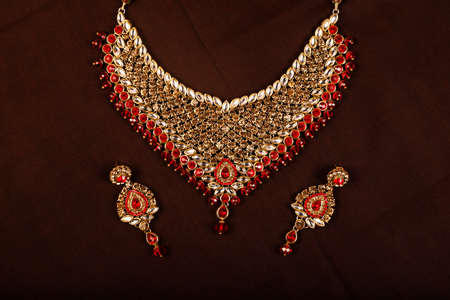 Traditional Indian Jewellery Imagens - 131634785
