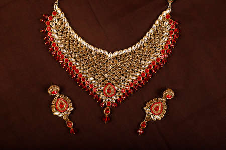 Traditional Indian Jewellery Imagens - 131634775