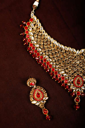 Traditional Indian Jewellery Imagens - 131635310