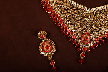 Traditional Indian Jewellery Imagens - 131634716