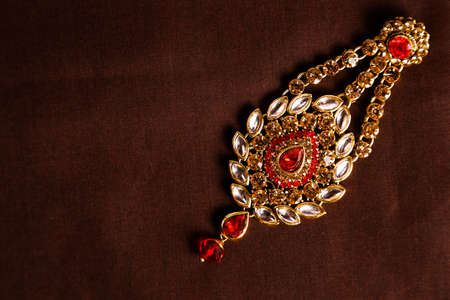 Traditional Indian Jewellery Imagens - 131634916