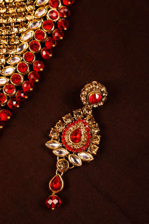 Traditional Indian Jewellery Imagens - 131634537