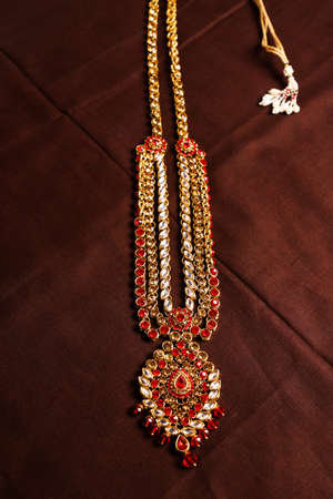 Traditional Indian Jewellery Imagens - 131634668