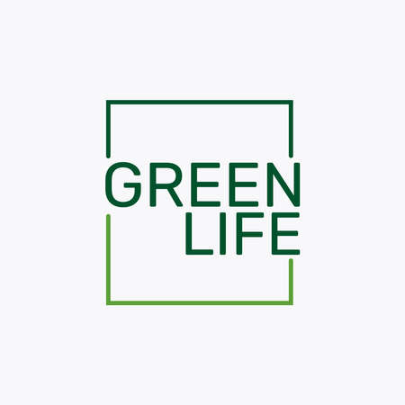 Very Simple And Attractive of Green Life. 版權商用圖片 - 161127860
