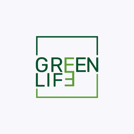Very Simple And Attractive of Green Life. 版權商用圖片 - 161127857