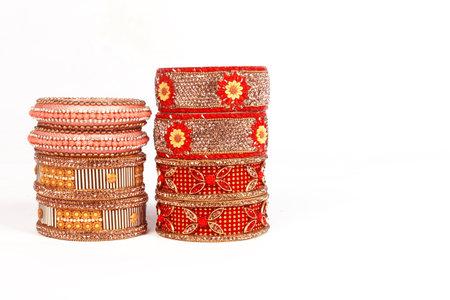 Ethnic Traditional Indian Bangle Wear in Wrist. 版權商用圖片 - 161594927