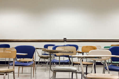 dirty room: An old classroom