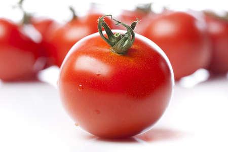 ensalada de tomate: Tomate rojo fresco