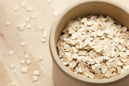 A Healthy Dry Oat meal background photo