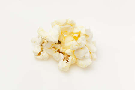 Crunchy white buttered popcorn that is salted Stock Photo - 14128079