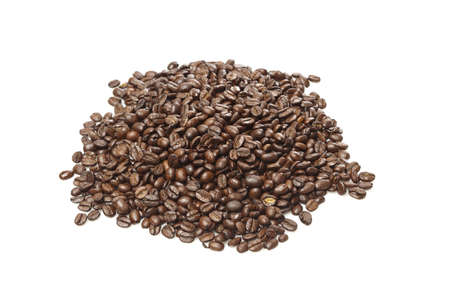 Black Organic Coffee Beans on a background Stock Photo - 14228868