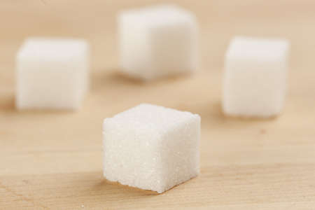 sweetening: White Organic Cane Sugar against a background