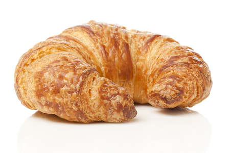 A Freshly Baked Croissant made for breakfast 版權商用圖片
