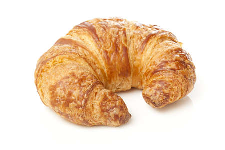 A Freshly Baked Croissant made for breakfast Фото со стока - 14380643