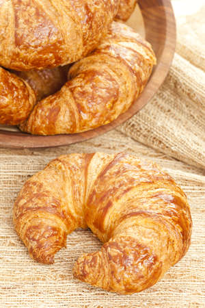 A Freshly Baked Croissant made for breakfast Фото со стока - 14380677