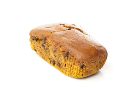 Fresh Homemade Chocolate Chip Pumpkin Bread ready to eat Stock Photo - 14507386