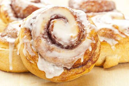 cinnamon swirl: Fresh Homemade Cinnamon Rolls made for breakfast