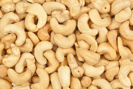 Organic Cashew with no shell on a background Stock fotó