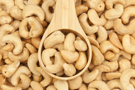 Organic Cashew with no shell on a background Stock Photo - 14680769