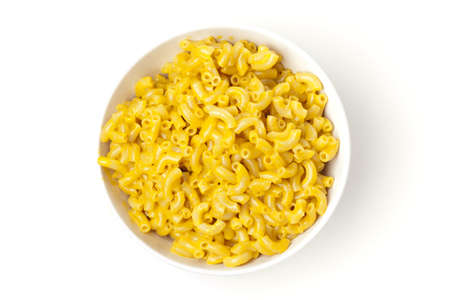 macaroni and cheese: Homemade Macaroni and Cheese in a bowl