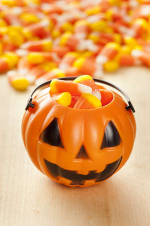 candy corn: Halloween Striped Candy Corn against a background