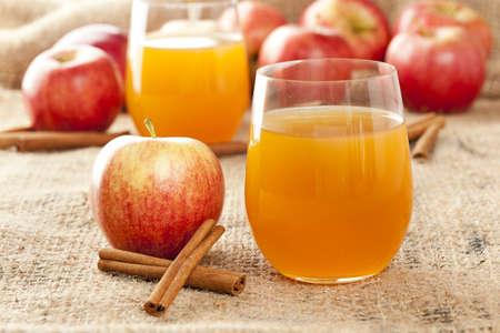hard: Fresh Organic Apple Cider with Apples and Cinnamon
