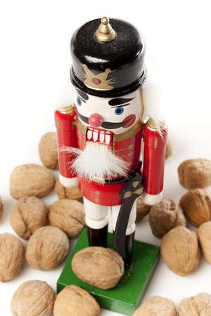 Festliche Weihnachten Nussknacker bereit für die Feiertage