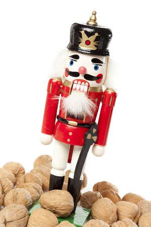 Festive Christmas NutCracker ready for the Holidays photo