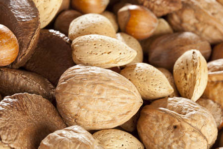 whole pecans: Fresh Organic Mixed Nuts including Walnuts, Almonds, Hazelnuts, Brazil Nuts