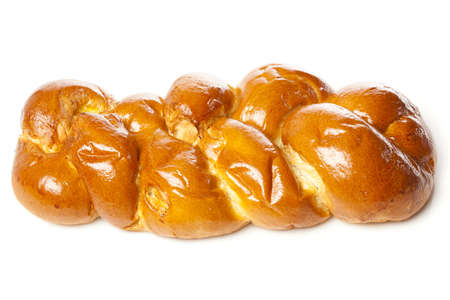 Fresh Homemade Challah Bread for a Jewish Celebration Stock Photo - 17170385