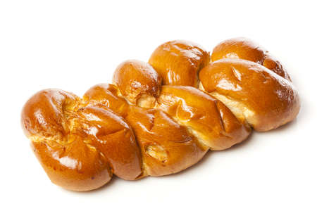Fresh Homemade Challah Bread for a Jewish Celebration Stock Photo - 17170384