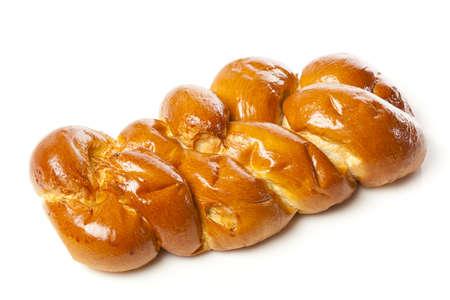Fresh Homemade Challah Bread for a Jewish Celebration Stock Photo - 17170384