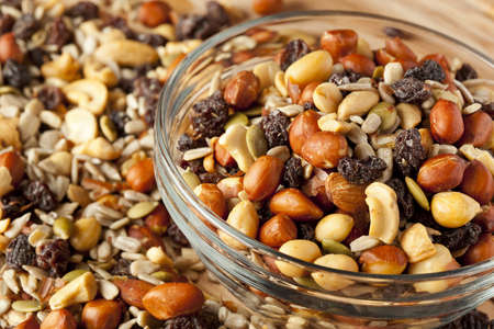 All Natural Homemade Trail Mix ready to eat photo