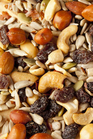 sunflower seeds: All Natural Homemade Trail Mix ready to eat