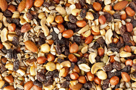mix fruit: All Natural Homemade Trail Mix ready to eat