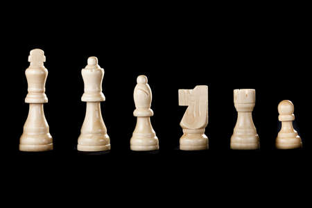 Classic Wooden Chessboard with Cheese Pieces against a background Stock Photo - 17168707