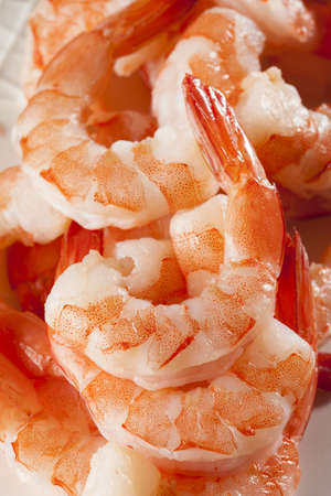 Fresh Organic Shrimp Cocktail with red sauce Stock Photo - 17303337