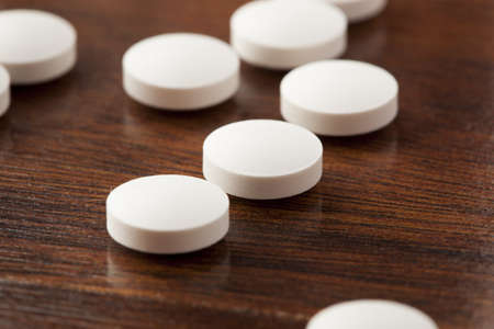 Variety of Drugs, Pills, Supplements, and Medication on a background Stock Photo - 17544988