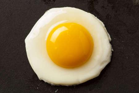 Organic Sunnyside up Egg ready for breakfast Stok Fotoğraf - 17909558