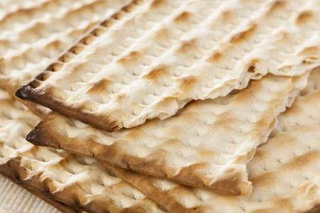 matzo: Homemade Kosher Matzo Crackers made with flour and water